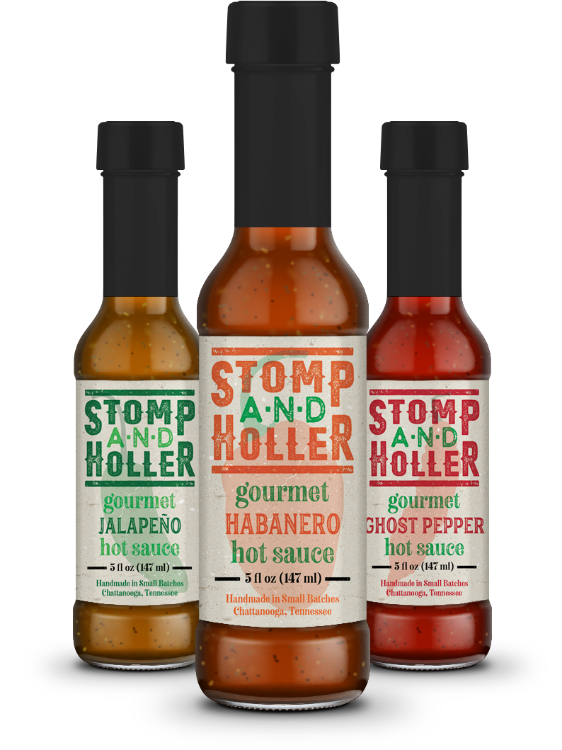 Stomp and Holler Hot Sauces